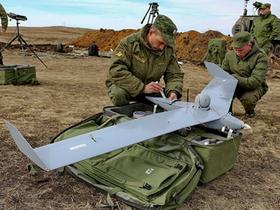 Operationally use of Russian UAVs in Syria