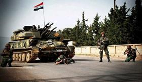 Syrian army managed to undermine the military post of 'Jabhat al-Nusra'